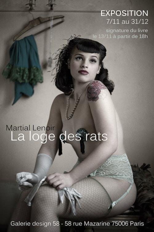 Affiche La loge des rats